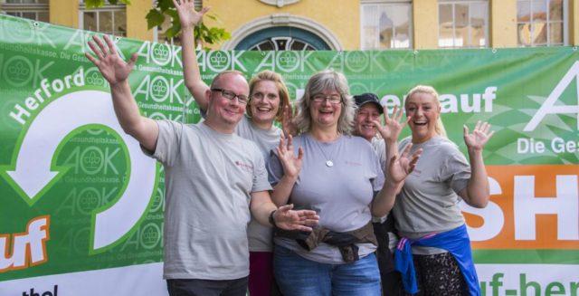 Backbone Service und Blumenhaus Bakensiek motivieren alle Mitarbeiter zur aktiven Teilnahme am AOK-Firmenlauf